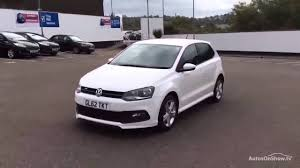 volkswagen car white volkswagen polo r line tsi white 2013 youtube