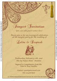 indian wedding invitation cards templates paperinvite