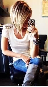 Bob Frisuren Mittellang Blond by Die Besten 25 Blonder Angewinkelteter Bob Ideen Auf
