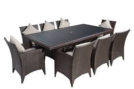 Patio Furniture Mississauga by Patio Furniture Direct 9 Piece Dining Patio Set 1499