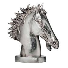 horse statue home decor sculptures and figurines bringing art deco decorating style into