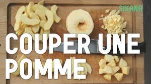 cuisiner la pomme couper une pomme cuisiner des légumes