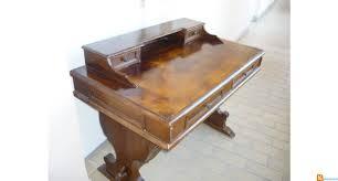 bureau secr aire bois bureau secrétaire ancien en bois massif occasion mandelieu la