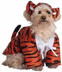 Halloween Costume Large Dogs Amazon Pawow Pet Costume Puppy Doggie Tiger Pet