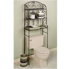 Bathroom Storage Shelves Over Toilet bathroom over the toilet cabinet in country style bathroom over