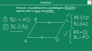 A Rectangle Is A Parallelogram With A Right Interior Angle Quadrilateral With A Pair Of Opposite Sides Parallel And Equal Is