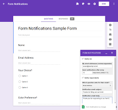 quickstart add on for google forms apps script google developers