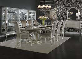 mixed dining room chairs dining room dining sets aico hollywood swank dining room