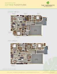 Assisted Living Facility Floor Plans by Independent Living Options At The Brennity At Melbourne Florida