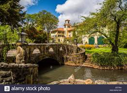 hotels in river oregon the columbia gorge hotel in river oregon usa stock photo