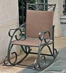 metal rocking chairs outdoor patio metal rocking chair porch seat