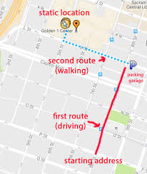 Maps Direction Google Maps Javascript Api Display Two Routes With Different