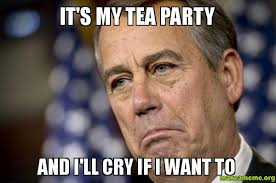 Tea Party Meme - it s my tea party and i ll cry if i want to make a meme