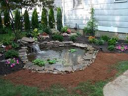 how to build a small pond in your backyard amys office