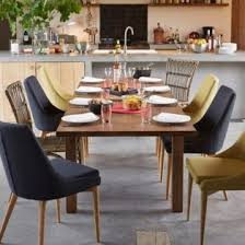chaises table manger salle à manger chaise en hévéa et frêne vert esprit scandinave