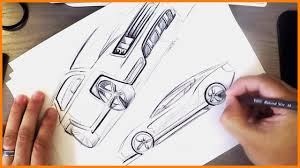 industrial design industrial design sketching bic pen cars