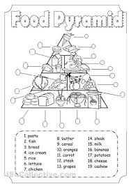 food pyramid for health lesson this will be good to show students