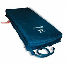 invacare microair ma 55 alternating pressure low air loss bed