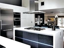 designer kitchen island contemporary black and white kitchen modern black and white kitchen