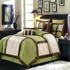 Duvet Covers King Contemporary Modern King Duvet Covers Modern Color Block Sage Green Ivory