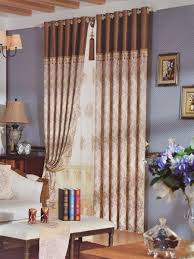 angel jacquard european style floral chenille custom made curtains