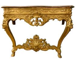Italian Console Table Italian Carved Giltwood Louis X V Style Console Table Modernism