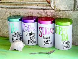 funky kitchen canisters apple tea storage funky kitchen canisters food