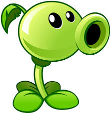 plants vs zombies 2 peashooter by illustation16 on deviantart