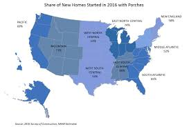homes with porches share of new homes with porches back over 65 percent eye on housing
