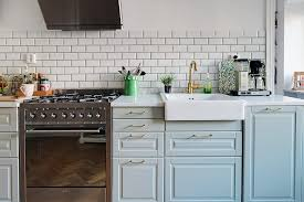 Light Blue Kitchen Tiles by Light Blue Kitchen White Marble Counter Tops White Tiles Not All