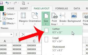 how to switch from a4 to letter paper in excel 2013 solve your tech