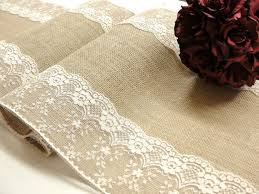 Burlap Lace Table Runner Best 25 Lace Table Runners Ideas On Pinterest Lace Table Diy