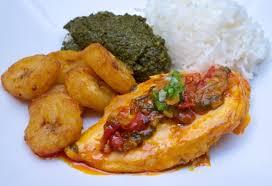 cuisine africaine poulet poulet à l huile de palme sauvage food la cuisine à