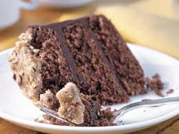bourbon chocolate cake with praline frosting recipe myrecipes