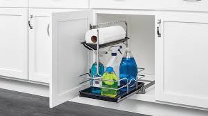 kitchen sink cabinet caddy undersink cleaning caddy