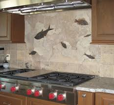 interior kitchen beautiful custom stainless steel backsplash