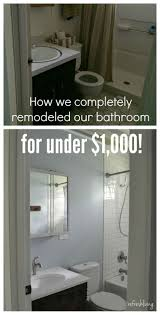 remodeled bathrooms ideas best 25 inexpensive bathroom remodel ideas on pinterest