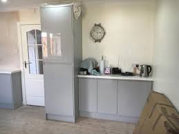 nice kitchen kitchen with sky lantern building and joinery contractors