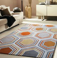 Living Room Rugs Modern Rugs Curtains Modern Multicolor Geometric Area Rugs For