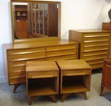 Modern Bedroom Furniture For Sale by Mid Century Modern Twin Bed By Jack Van Der Molen For Jamestown