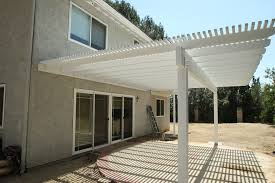 los angeles lattice patio cover traditional with wood balcony v