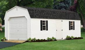Barn Garage Doors One And Two Car Garage Buildings Best In Backyards