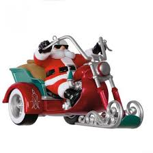 hallmark keepsake ornament leader of the pack motorcycle with sound