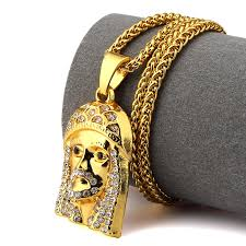 aliexpress buy nyuk mens 39 hip hop jewelry iced out online get cheap jesus beautiful aliexpress alibaba
