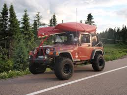 jeep kayak trailer wrangler with kayak s roof rack page 2 jeepforum com