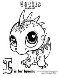 pet shop coloring pages printable drawings littlest
