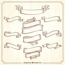 vintage ribbon ribbon vectors photos and psd files free