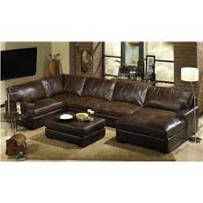 Brompton Leather Sofa Usa Premium Leather Olinde U0027s Furniture Baton Rouge And