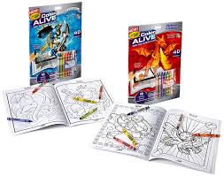 color book com amazon com crayola color alive action coloring pages combo set