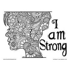 printable coloring quote pages for adults printable coloring sheets for adults quotes about strength and
